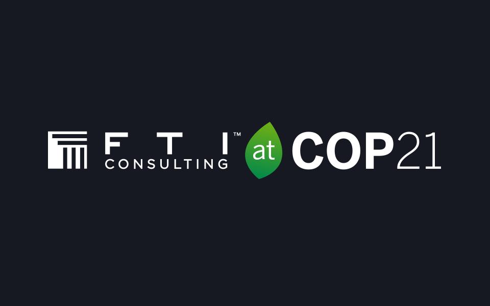 FTI at COP21 logo