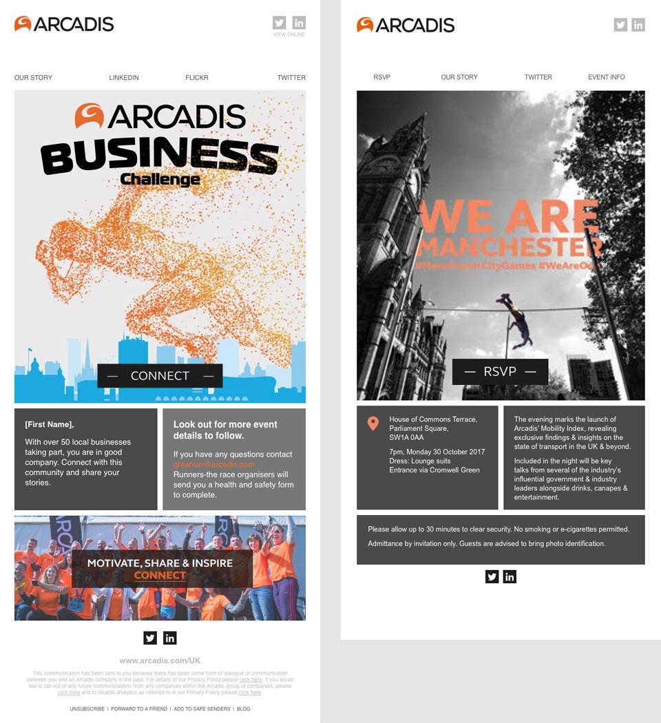 Arcadis email templates