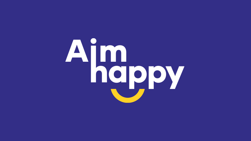 Aim Happy Logo